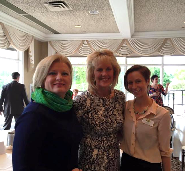 Left: Lisa Fleming, Michigan Regional Vice President of Howard Hanna Real Estate Services Middle: Allison Fishwick, Associate Broker - The Allison Fishwick Group Right: Melissa Carlson, Buyer's Agent - The Allison Fishwick Group